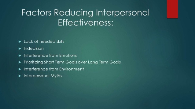 DBT – Myths about Interpersonal Effectiveness